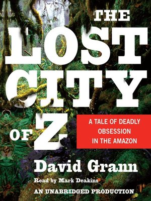 cover image of The Lost City of Z